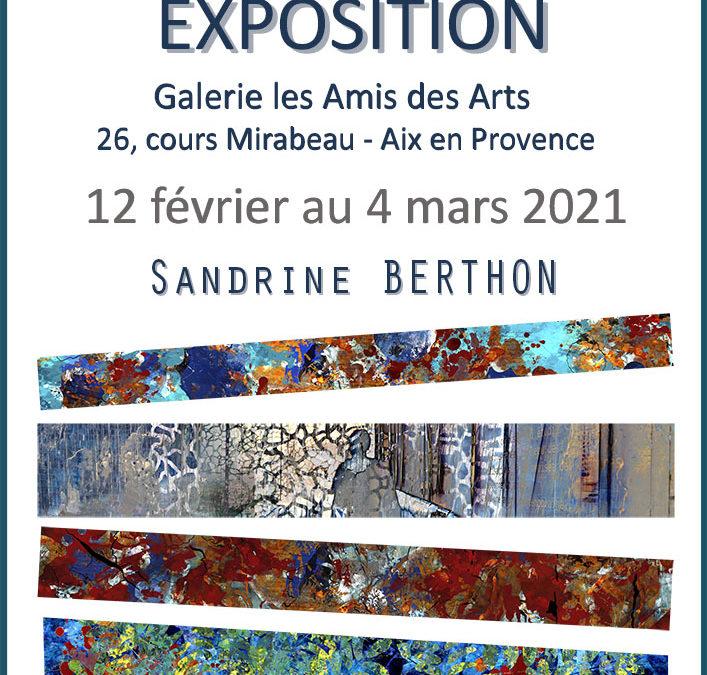Expo Galerie les amis des arts